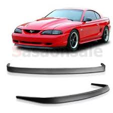 95 mustang gt 94 95 96 97 98 ford mustang gt style front chin spoiler bumper lip
