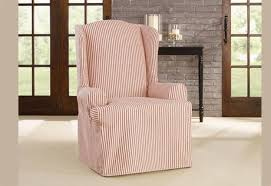 Slipcover Wing Chair Sure Fit Slipcovers Blog