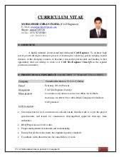 download construction engineering sample resume