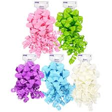 gift bows bulk voila brightly colored loop and curly gift bows 2 ct packs