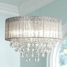Silver Chandelier Small Chandelier For Closet Silver Fabric Chandelier