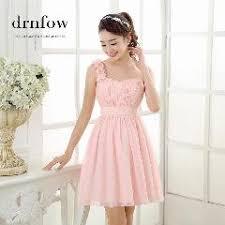 one shoulder mini junior dress 2016 chiffon sweetheart sleeveless