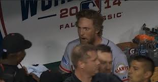 Hunter Pence Memes - hunter pence made great evil faces after his home run mccovey