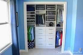tween boy u0027s room organized closet reveal organizing homelife