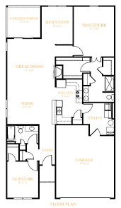 Charleston Floor Plan by Charleston At Grant Park At Prestwick Westport Homes