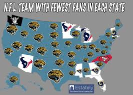 Mlb Fan Map Are You Ready For Some Maps About Football U2013 Estately Blog