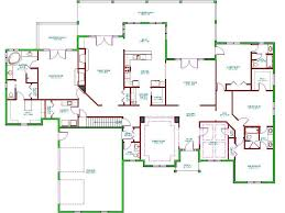 hacienda house plans ranch split bedroom floor plans with house plan the james one