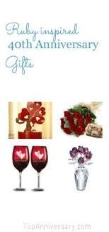 best anniversary gifts best 40th wedding anniversary gift ideas