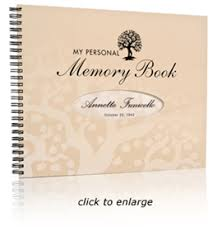 wedding memory book nostalgia publishing personalized wedding anniversary gifts