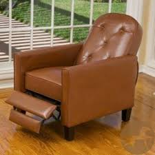 small leather recliner chairs foter