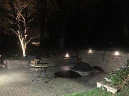 Landscape Lighting Contractor Cleveland Ohio Outdoor Lighting Contractor Baron Landscaping
