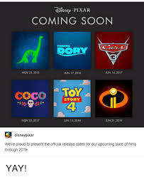 Pixar Meme - tdisnep pixar coming soon finding doorly jun 16 2017 nov 25 2015 jun
