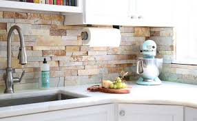 Veneer Kitchen Backsplash Stacked Backsplash Tiles For Kitchens And Bathrooms