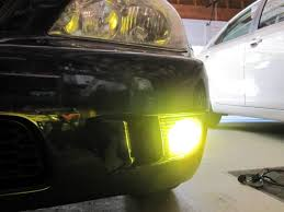 2008 lexus is250 yellow fog lights diy how to install hid bulbs into your foglights 9006 style