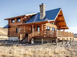 true montana log cabin great hunting priva vrbo