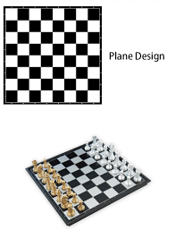 aliexpress com buy magnetic foldable gold and silver chess game