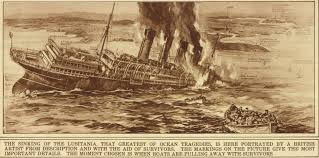 sinking of the lusitania the sinking of the lusitania on may 7 1915 america and the great