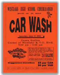 wash fundraisers