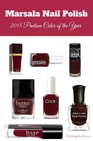 marsala nail polish 2015 pantone color of the year