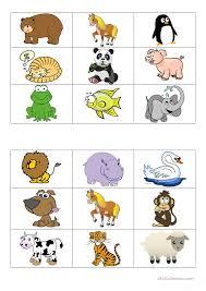 animals bingo cards worksheet free esl printable worksheets made