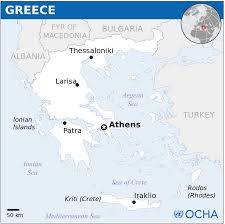 Corinth Greece Map by Map Of Ancient Greece