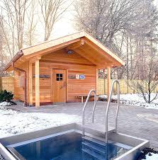 Plan To Build A House by Building An Outdoor Wood Burning Sauna How To Build A House