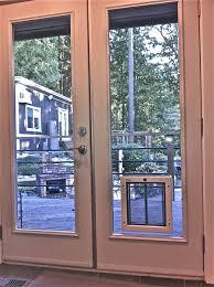 installation of sliding glass doors impressive doggy door in french doors pet door installation