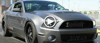 shelby mustang 1000 hp shelby mustang with 1000 hp what to do with it on an open road