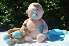 baby boy baby shower cake topper cakecentral com