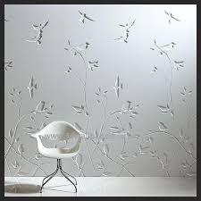 3d birds design mdf 3d carved wall panel