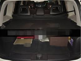 2014 jeep patriot cargo cover rear trunk security shade cargo cover black for jeep patriot 2015