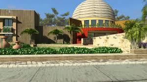 modern bungalow architecture walkthrough 3d animation kems