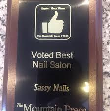 sassy nails salon sevierville pigeon forge gatlinburg