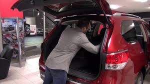 nissan pathfinder 2016 interior 2016 nissan pathfinder features review youtube