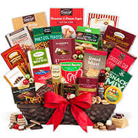 gift food baskets christmas food gift baskets by gourmetgiftbaskets