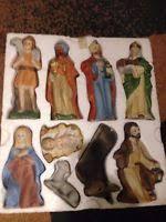 home interiors nativity set 12 home interior homco nativity set bisque