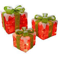 christmas present light boxes christmas decoration light up presents ideas christmas decorating