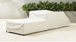 Lounge Chair Slipcover Caprice Waterproof Chaise Lounge Chair Cover Cb2