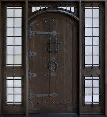 wood and glass front doors rustic custom front entry doors custom wood doors from doors for