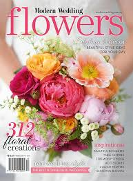 new modern wedding flowers magazine on sale