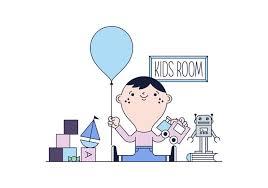 chambre kid vecteur libre chambre kid téléchargez de l des graphiques