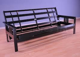 262 70 monterey wood futon frame black futons 7