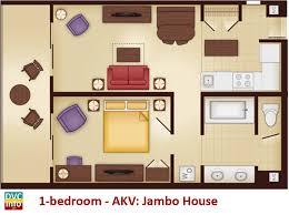 bedroom floor plan disney s animal kingdom villas dvcinfo