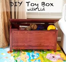 Toy Box Ideas Sweet Pea U0027s Kitchen Diy Toy Box With Lid
