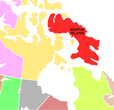 Canada On A Map File Baffin Island Map Svg Wikimedia Commons