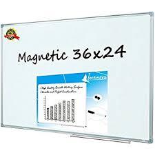 amazon com viz pro magnetic dry erase board 36 x 24 inches