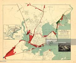 Map Of Portland Maine North America Maine 1930 Map Showing The Rail And Water Terminal
