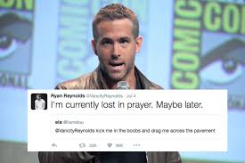 Horny Girl Meme - ryan reynolds actually responds to horny fans who beg him for sex