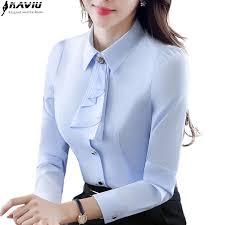 formal blouse sleeve shirt autumn white purple bow tie
