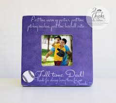 gift for dad baseball gift for dad father son baseball picture frame